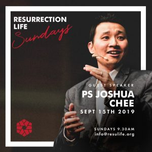 Pastor Joshua Chee Resurrection Life